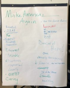 list of options about what America could be made into again